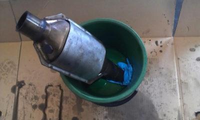 Чем промыть катализатор автомобиля своими руками?