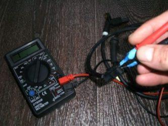 Как проверить датчик парктроника тестером?