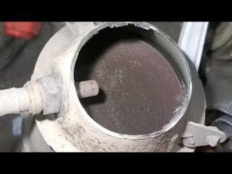 Промывка катализатора димексидом