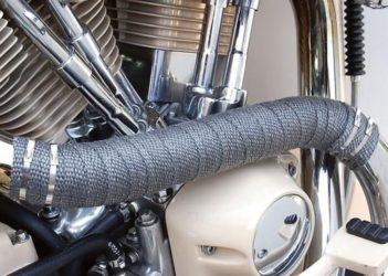 Термолента для глушителя мотоцикла